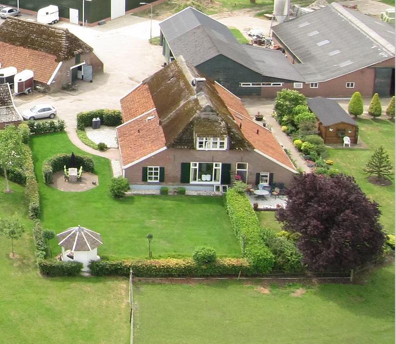het terrein Vakantiewoning in Nederland